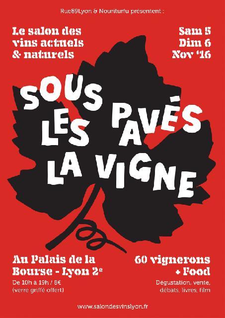 3e salon rue89lyon des vins le grand rendez vous for Salon du vin lyon