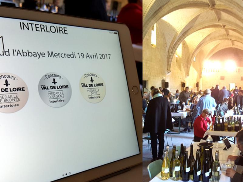 Concours des vins du val de loire 278 m dailles attribu es for Salon des vins de loire 2017