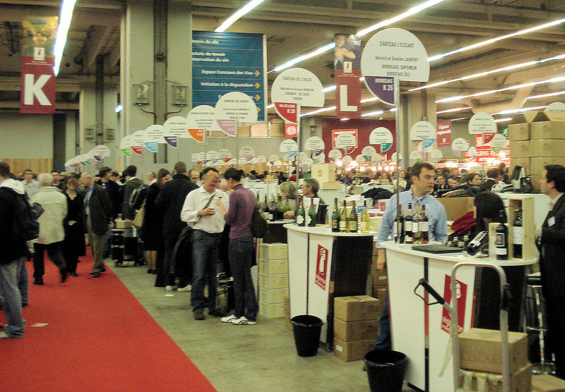 La journ e vinicole agenda du vin du au for Salon du vin champerret
